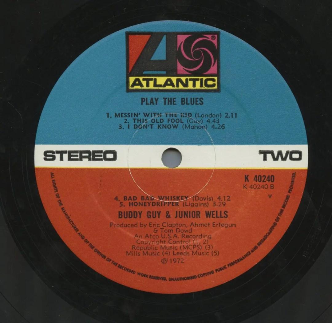 Buddy Guy & Junior Wells Vinyl Play The Blues 1972
