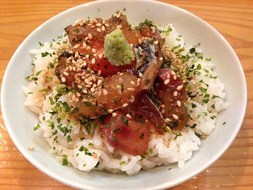 寿庵の漬け丼♪
