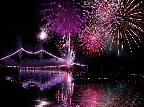川開き花火大会