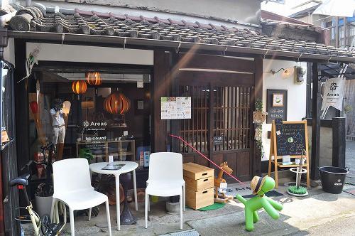 豆田町の細い路地に入るとこんなお店が!