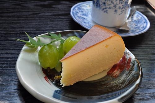 渓仙閣チーズケーキ