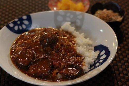 椎茸カレー