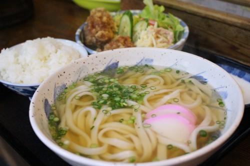 うどん定食 / 850円