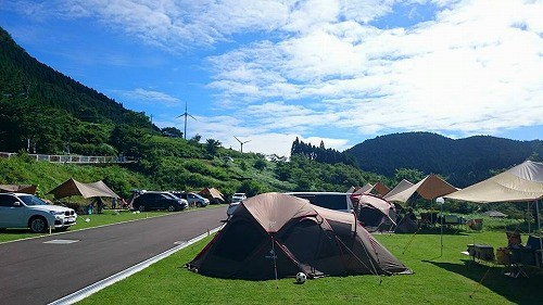 スノーピーク奥日田キャンプフィールド