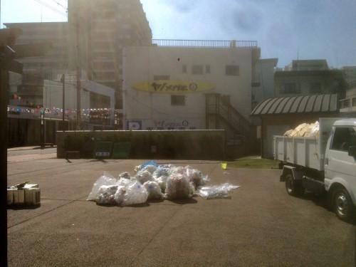 ゴミの整理も、一苦労