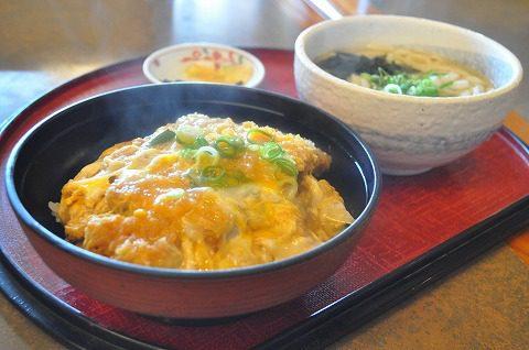 金比羅日田ICカツ丼セット