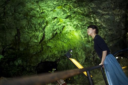 不思議な空間。地底博物館!