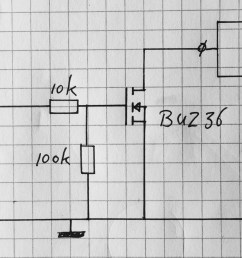 heated bed mosfet switch circuit diagram [ 2616 x 1177 Pixel ]