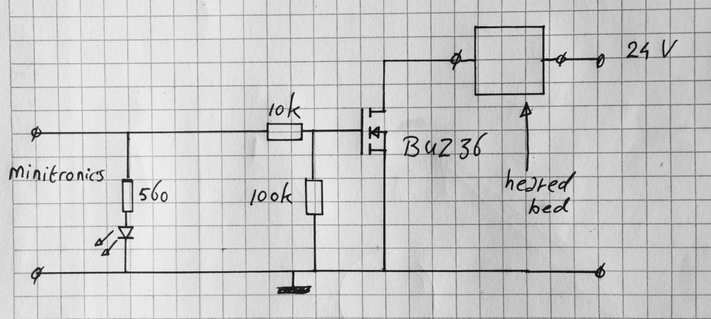 medium resolution of heated bed mosfet switch circuit diagram
