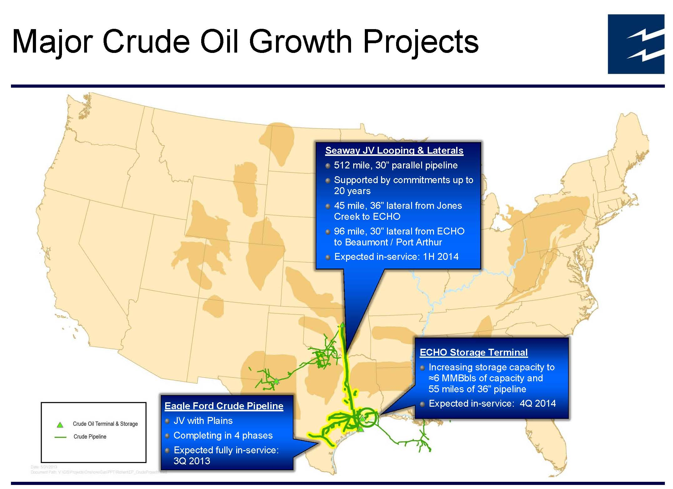 Enterprise to Offer Crude Oil for Export in Second WTI