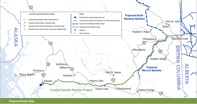Oil & Gas 360 - TransCanada, First Nations Sign Agreements for $4.8 Billion Pipeline that will Transport 2-3 Bcf/day of NatGas to LNG Canada