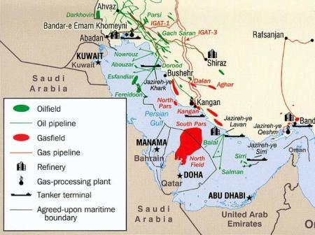 Iran, natural gas
