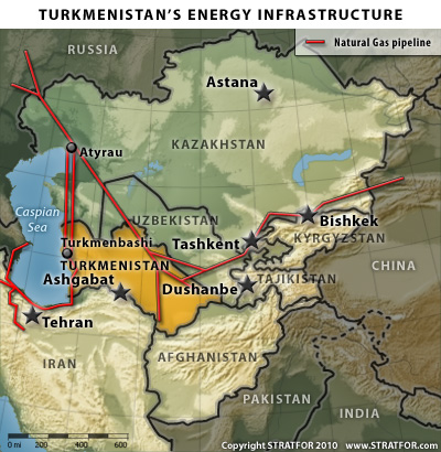 Turkmenistan's Energy Infrastructure