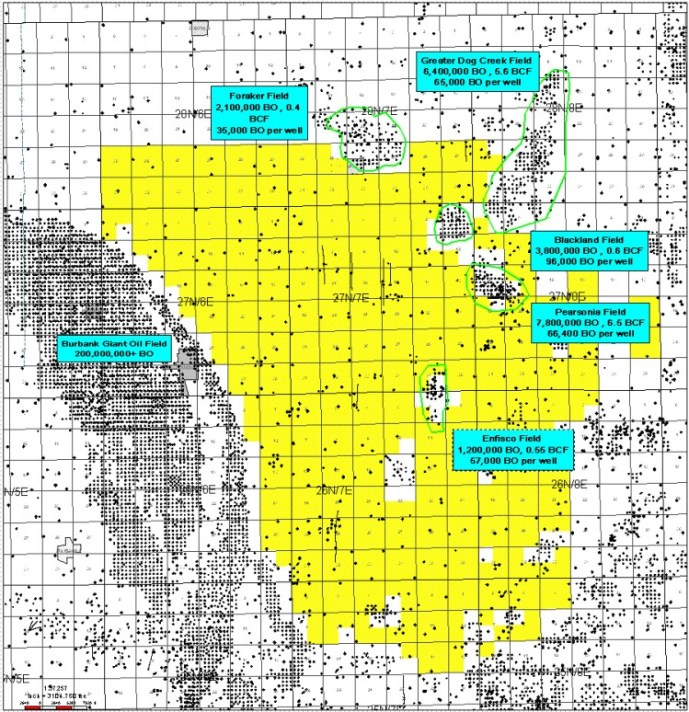 Conventional Oil and Gas - Petro River Pearsonia West