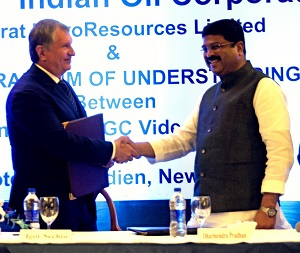India and Russia strengthen energy ties