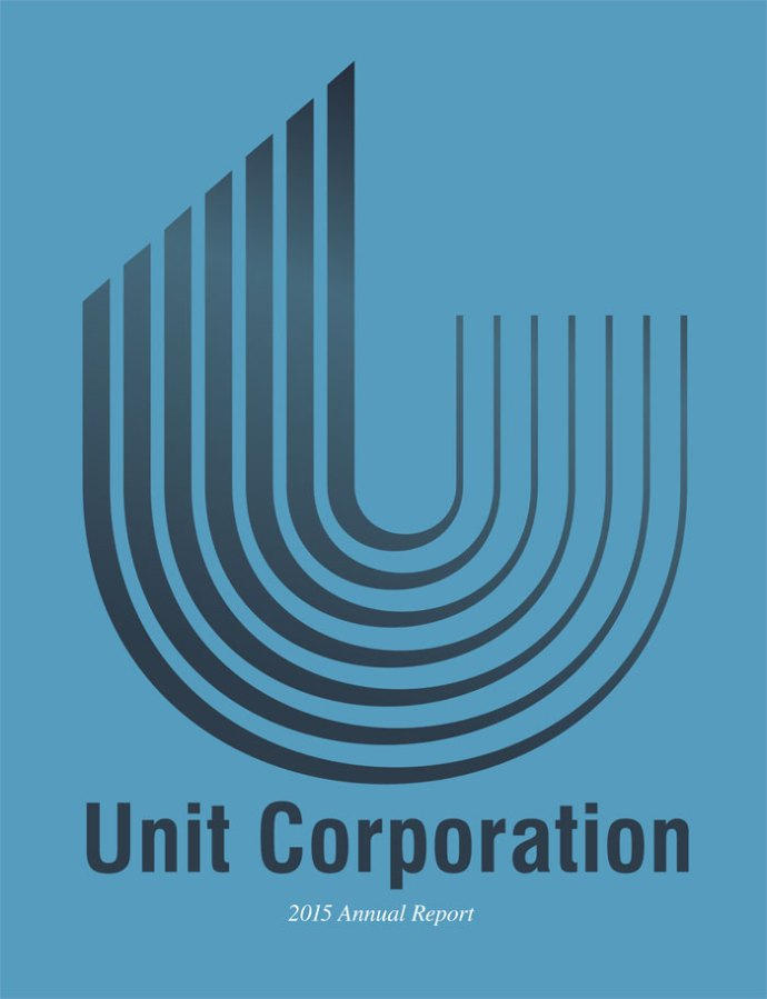 Unit Corporation 2015 Annual Report Cover