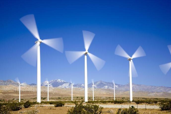 wind turbines image