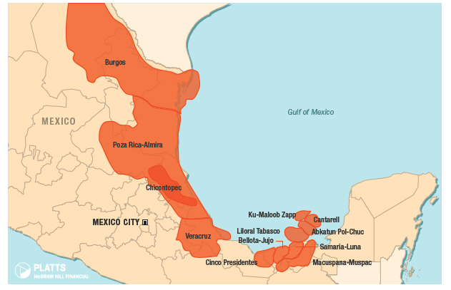 International Frontiers Resources - Mexico asset map