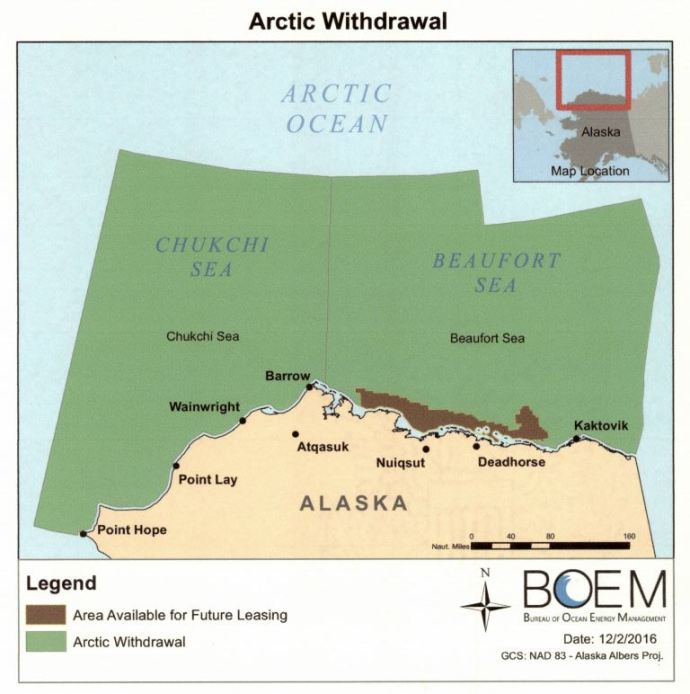 "President Declares ""Indefinite"" Offshore Drill Ban for Alaska, Atlantic Coast"