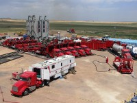 Frackers Go Electric as Negative Gas Prices Spur Switch