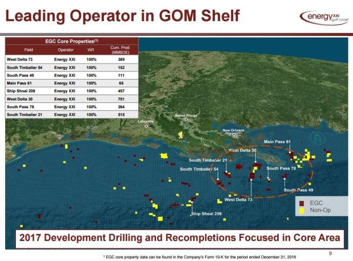 Energy XXI Gulf Coast Plans to Spud Development Well in June