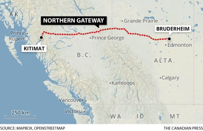 Government of Canada introduced C-48, the proposed Oil Tanker Moratorium Act essentially putting an end to the Northern Gateway pipeline proposal