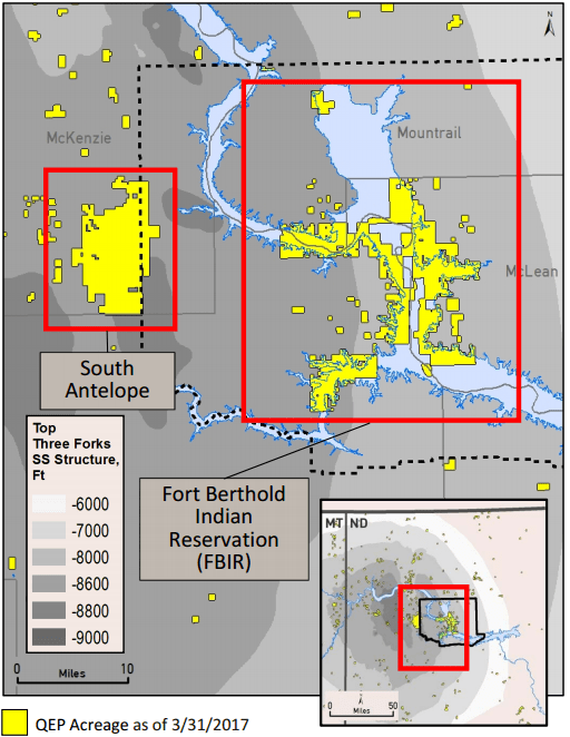 QEP Resources Has 5 Rigs Drilling the Permian, 1 in the Williston, 1 in the Pinedale Anticline