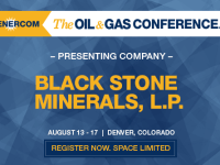 EnerCom's 2017 Conference Day Two Breakout Notes: Black Stone Minerals