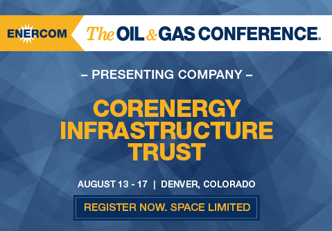 CorEnergy Has a Grasp on Stable Energy Infrastructure in GOM, Mid-Continent, Portland