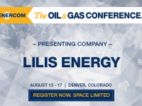 EnerCom's 2017 Conference Day Two Breakout Notes: Lilis Energy