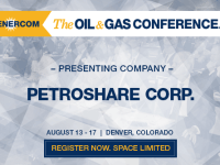 EnerCom's 2017 Conference Day One Breakout Notes: PetroShare Corp.