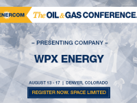 EnerCom's 2017 Conference Day Two Breakout Notes: WPX