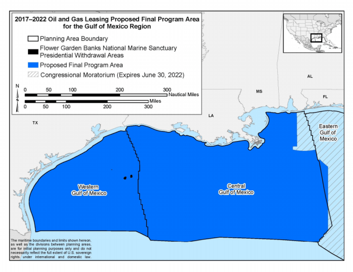 BOEM Offers GOM Leases at Reduced Royalty Rate for Shallow Water Leases