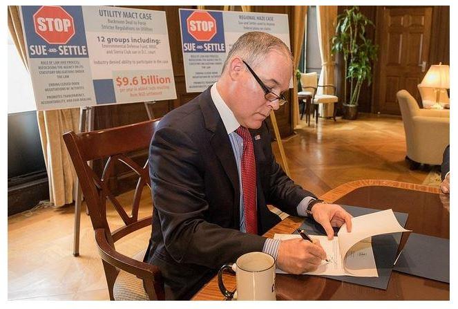 "EPA Boss Ends ""Sue & Settle"" Environmental Policymaking"