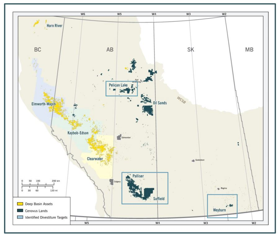 Cenovus Inks CAD $1.3 Billion Deal to Sell Palliser ets ... on map london south kensington, map of alaska, map forms, map of battle of puebla mexico, map grid reference, map markings, map with address numbers, map of georgia, map of eldoret town, map of river oaks mall, map my road home, map marker, map grid system, map categories, map login, map key, map of dc capitol building, map icon, map provinces of sweden,
