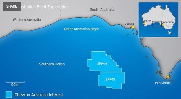 Australia Map Great Australian Bight.Chevron Australia Pulls Plug On Bight Exploration Oil