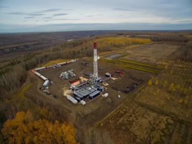 Blackbird Energy Montney well