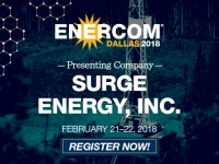 Surge Energy Presenting at EnerCom Dallas Feb. 21-22, 2018