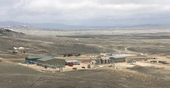 Elk Petroleum's Grieve CO2 Project Starts Production