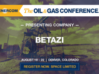 BetaZi to Present at The Oil and Gas Conference