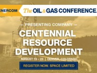 Delaware Basin Producer Centennial Resource Development Presenting at The Oil and Gas Conference