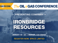 Iron Bridge Resources Provides Operations Update and Reports Second Quarter 2018 Financial Results