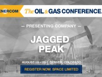 Jagged Peak Energy to Present at The Oil and Gas Conference