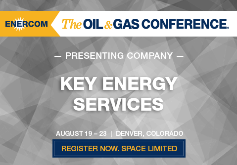 Presenting At The Oil And Gas Conference Key Energy