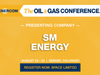 Presenting Companies at The Oil and Gas Conference: SM Energy