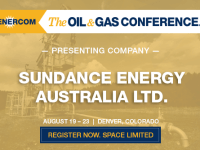 Sundance Energy Australia Presenting at The Oil and Gas Conference