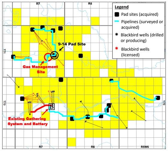 Operational Update: Blackbird Energy