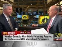 Core Lab CEO David Demshur to Jim Cramer: I'm Worried Oil Could Go Above $100 by 2020
