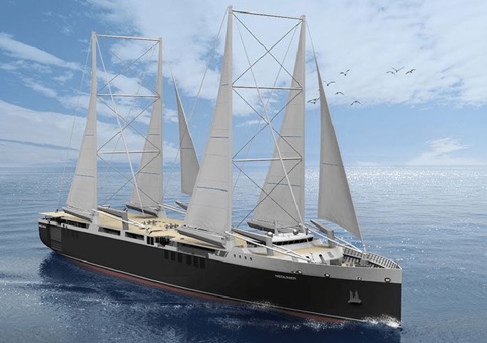 Automaker Eyes Wind Powered Ships to Cut Supply Chain Carbon