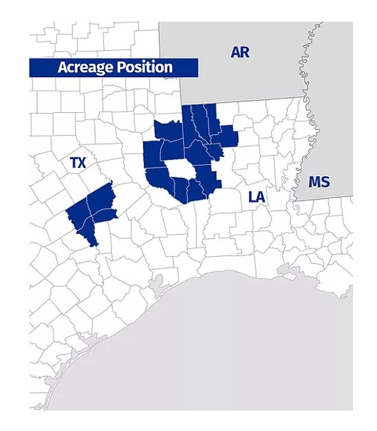 Oil & Gas 360 - Natural Gas Giant Haynesville Shale - Covey Park acreage